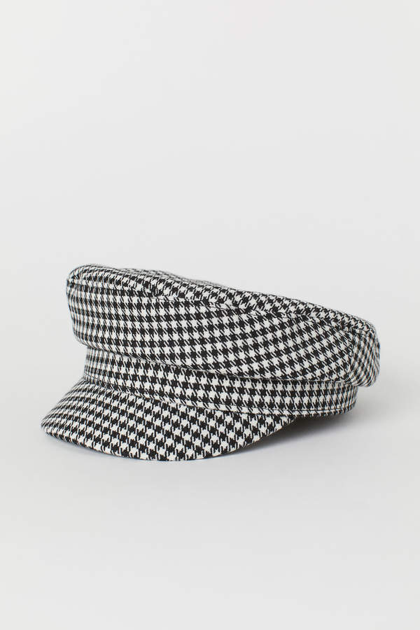 H&M Patterned captains cap