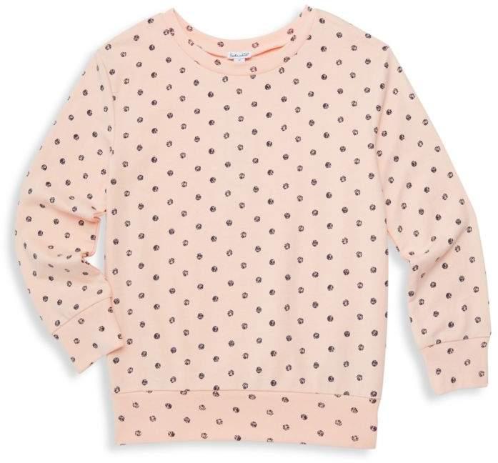 Splendid Little Girl's & Girl's Polka-Dot Sweatshirt