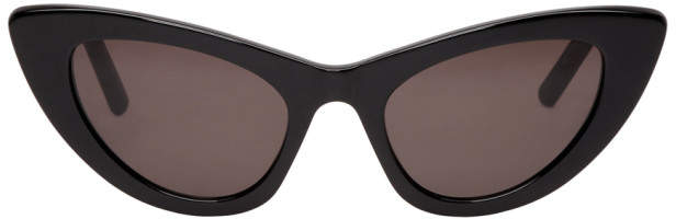 Saint Laurent Black Lily Sunglasses
