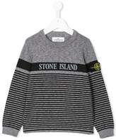 Stone Island Junior striped sweater
