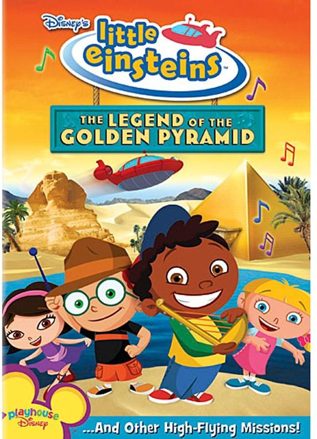 Little Einsteins: The Legend of the Golden Pyramid DVD