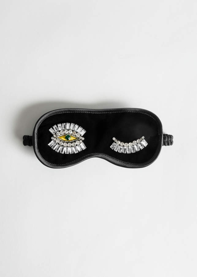 And other stories Jewelled Wink Velvet Eyemask