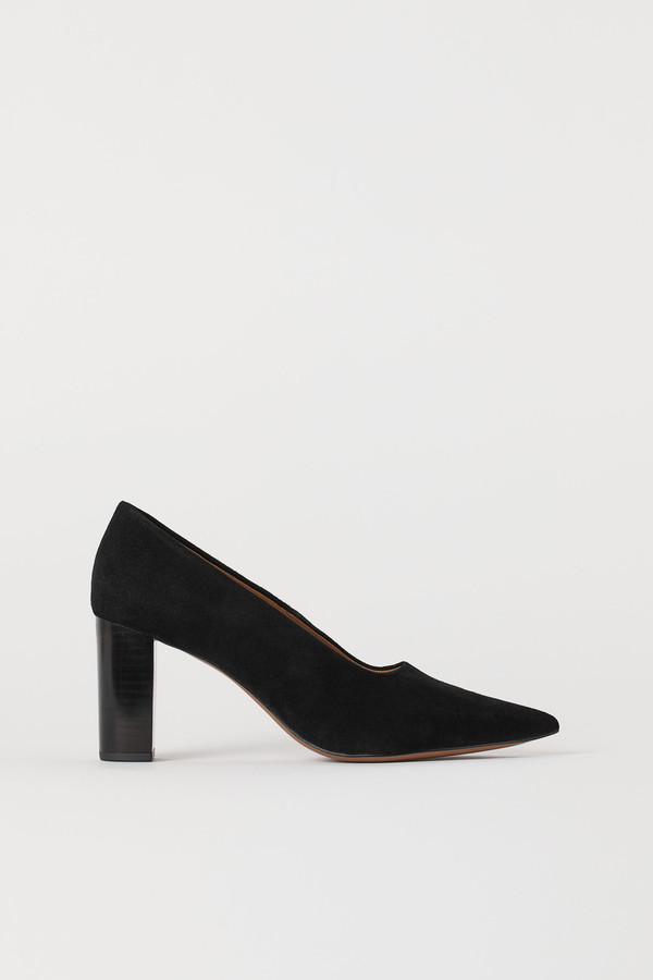 H&M Block-heeled court shoes