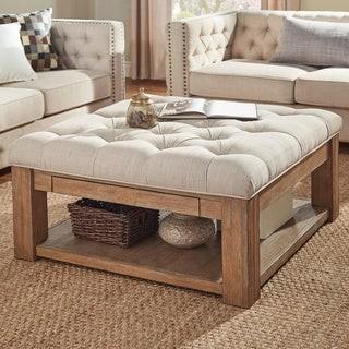 storage ottoman coffee table shop the