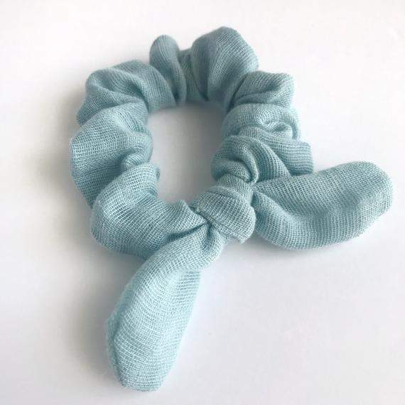 Monica Bow Scrunchies|Hair Ties