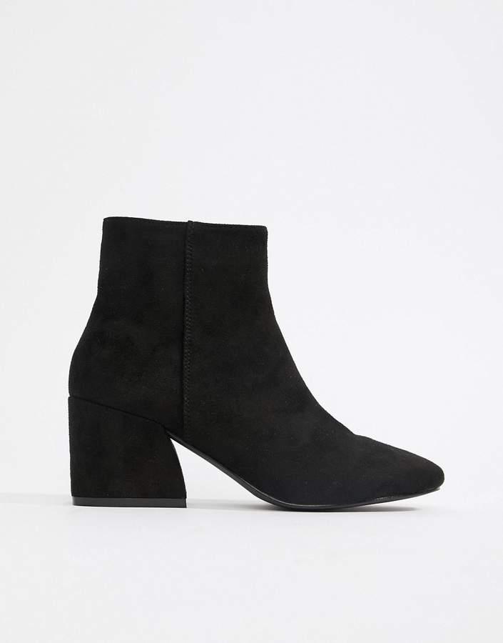 Raid RAID Black Rapple2 Heeled Ankle Boots