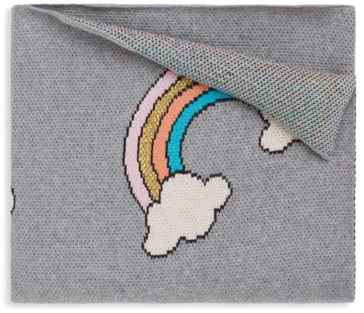 Elegant Baby Baby's Organic Cotton Rainbow Blanket