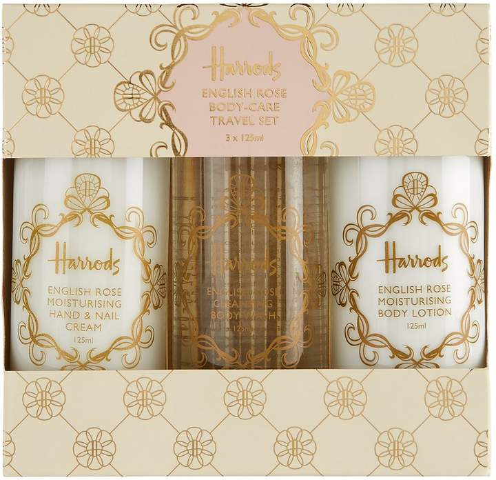 Harrods English Rose Travel Body Set