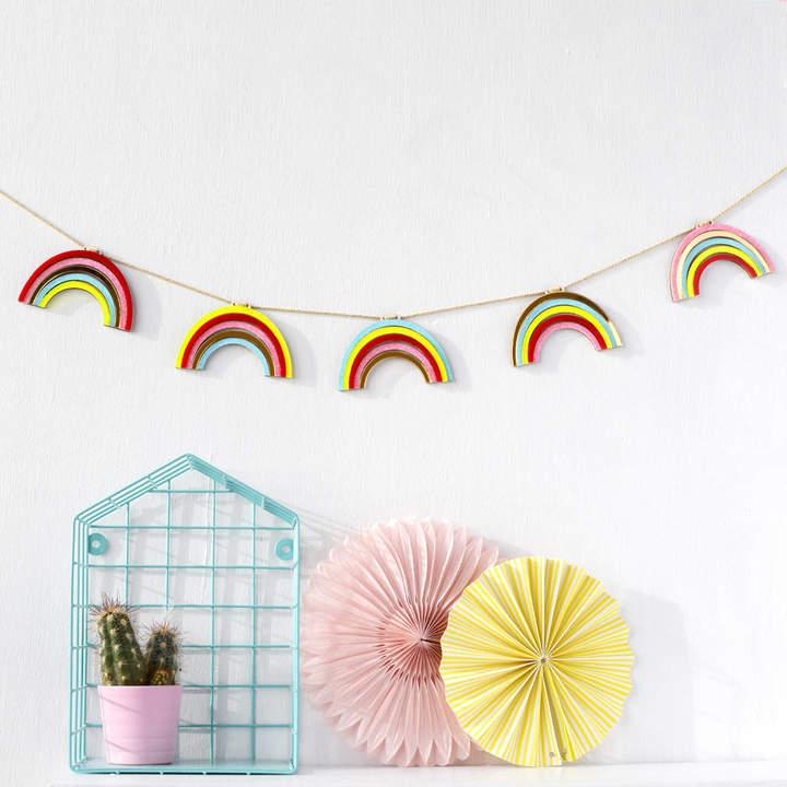 House of Hooray Acrylic Rainbow Garland