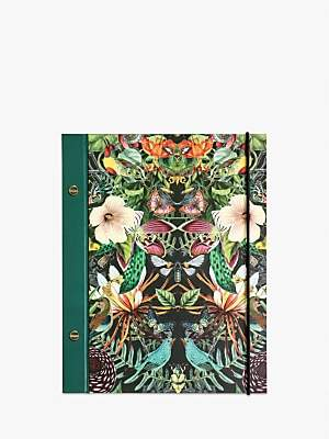 Archive Large Botanical Notebook