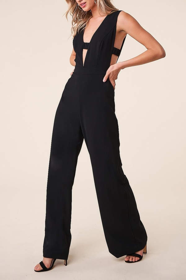 Sugarlips Plunging Jumpsuit