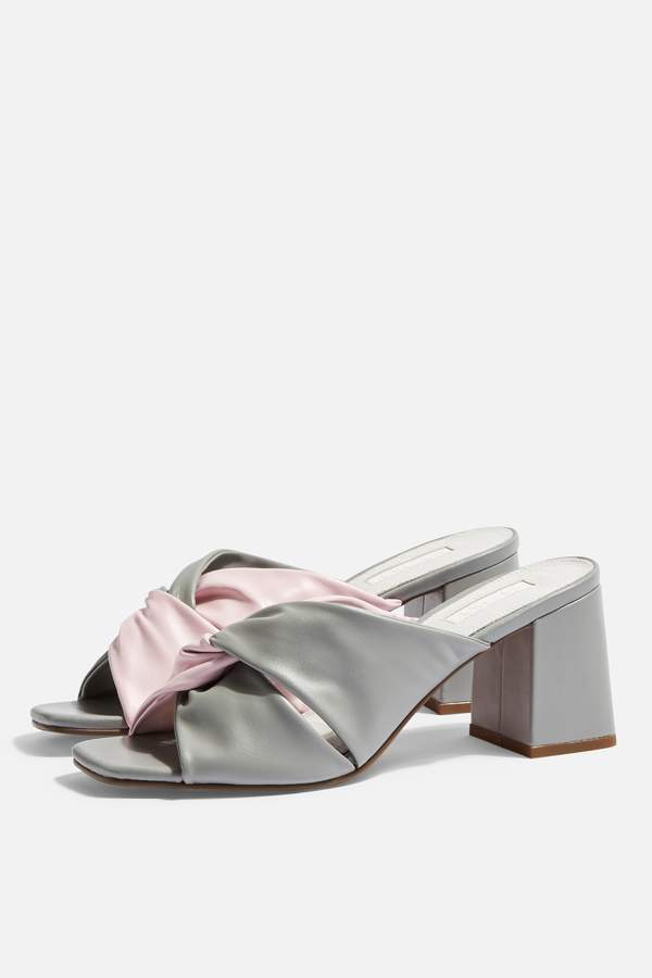 Topshop Womens Nepal Twist Mules - Multi