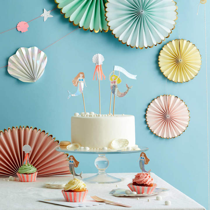 Little Lulubel Let's Be Mermaids Cake Toppers