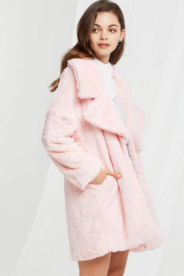 Jane Plushy Oversized Coat
