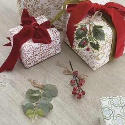Set of 3 Greenery Gift Ties - Assorted - Ballard Designs