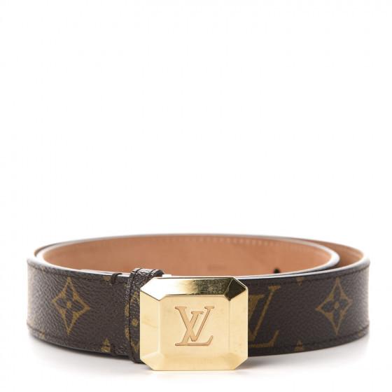 Louis Vuitton Monogram 30mm Cabochon Belt