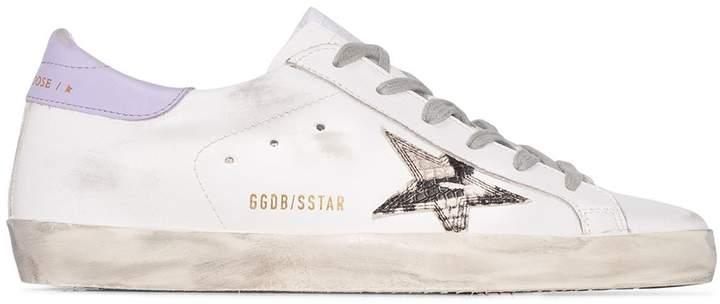 Superstar snake-print low-top sneakers