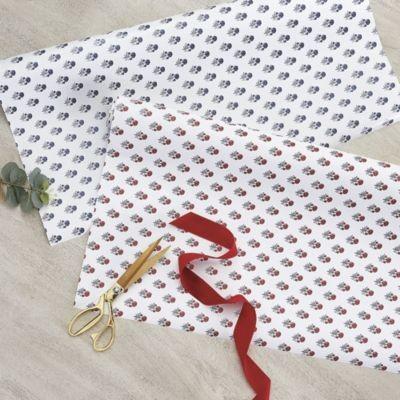 Anais Giftwrap Indigo - Ballard Designs