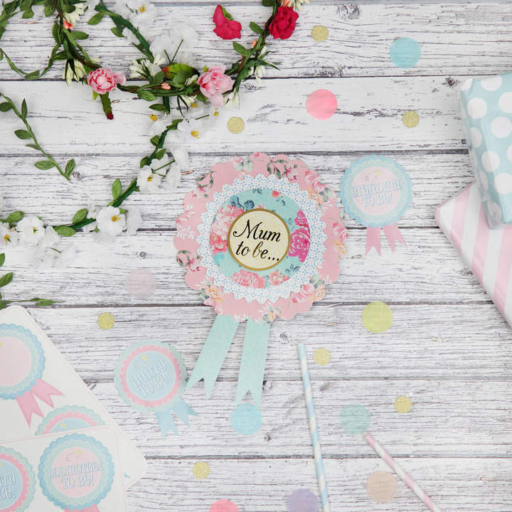 Postbox Party Baby Shower Mum To Be Rosette
