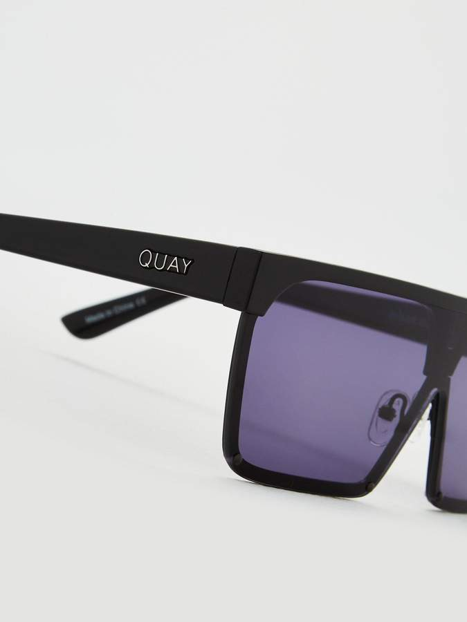 Quay Australia QUAY AUSTRALIA Shade Queen X BENEFIT ShieldSunglasses - Black