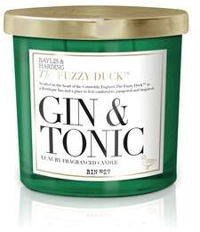 Womens Baylis & Harding Fuzzy Duck Gin And Tonic Scented Luxury Double Wick Candle