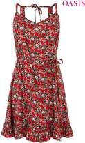 Womens Oasis Pink Aymee Floral Dress