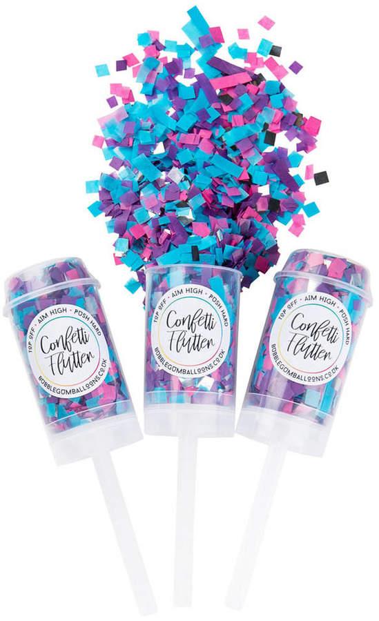 Bubblegum Balloons Mermaid Confetti Flutter