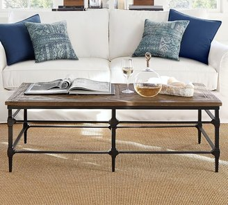 pottery barn coffee tables shop the
