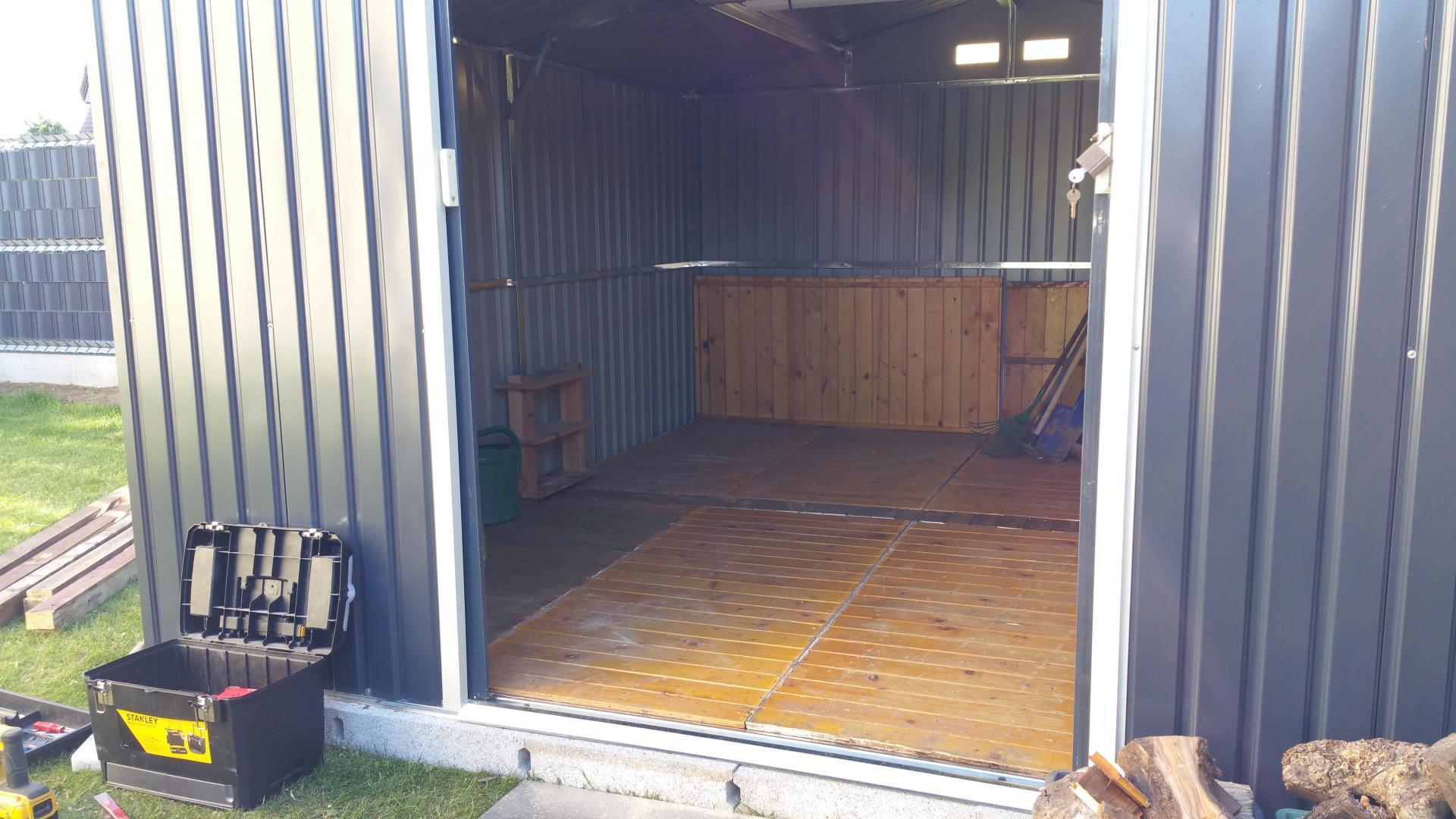 Abri Jardin Container