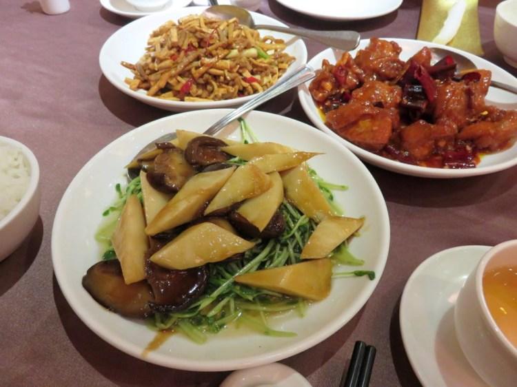 台北彭園湘菜館 慕名而來左宗棠雞