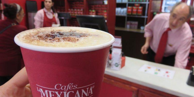 西班牙點杯咖啡在Cafés la Mexicana買咖啡豆