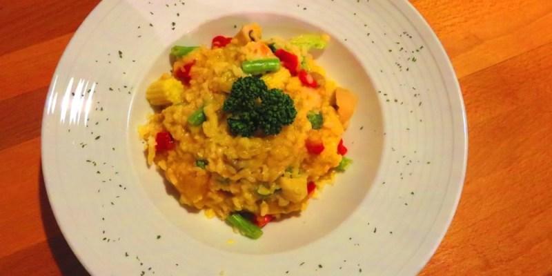 《義大利燉飯Pa Pa Rice》專注在燉飯上的心無旁騖