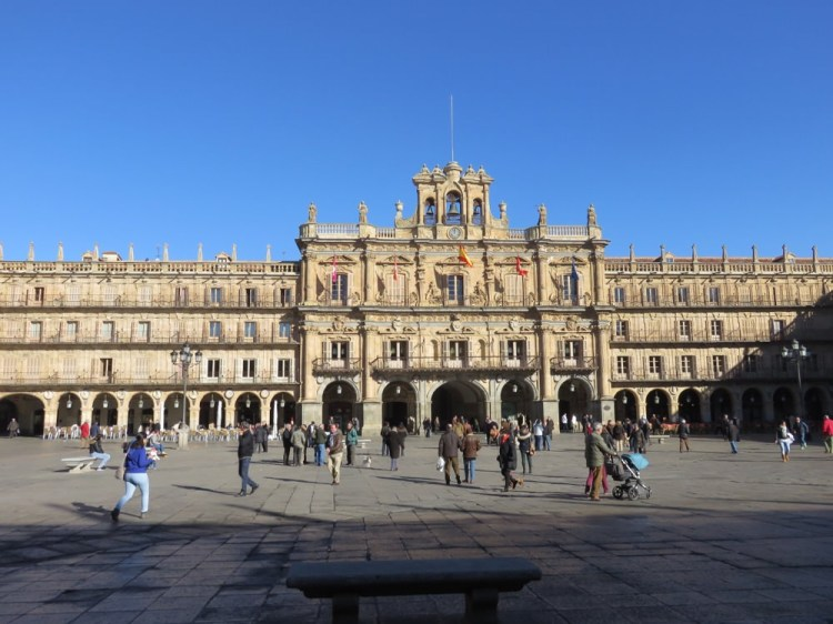 西班牙沙拉曼卡明信片漫步閒談