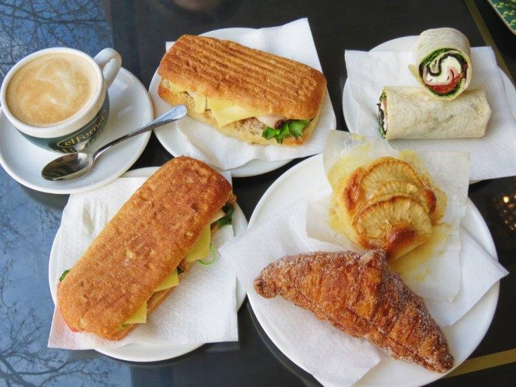 巴塞隆納早餐 El fornet 快速節奏的慢食