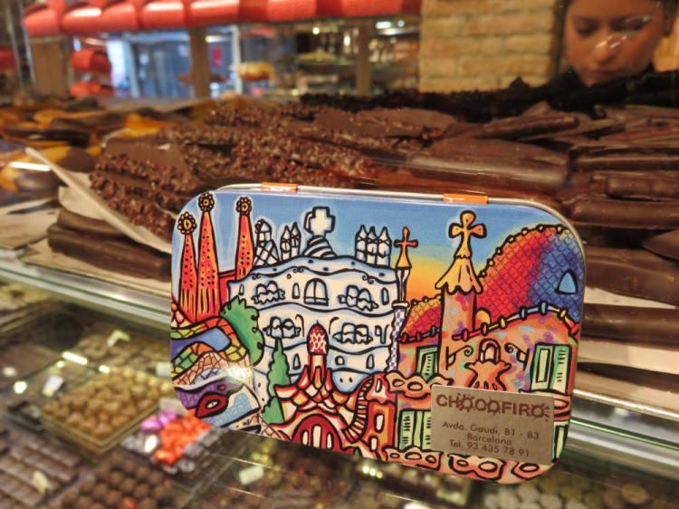 聖十字聖保羅醫院巴塞隆納Chocofiro百年招牌手工巧克力