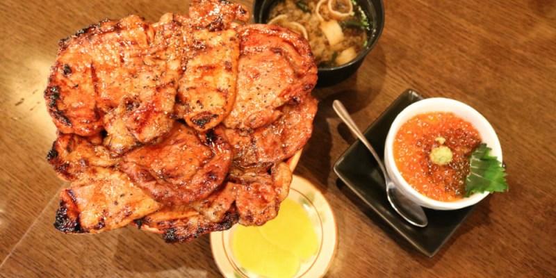 東京燒肉 炭火燒豚丼専門北海道十勝帶廣的烤肉飯有沒有龍飛出來