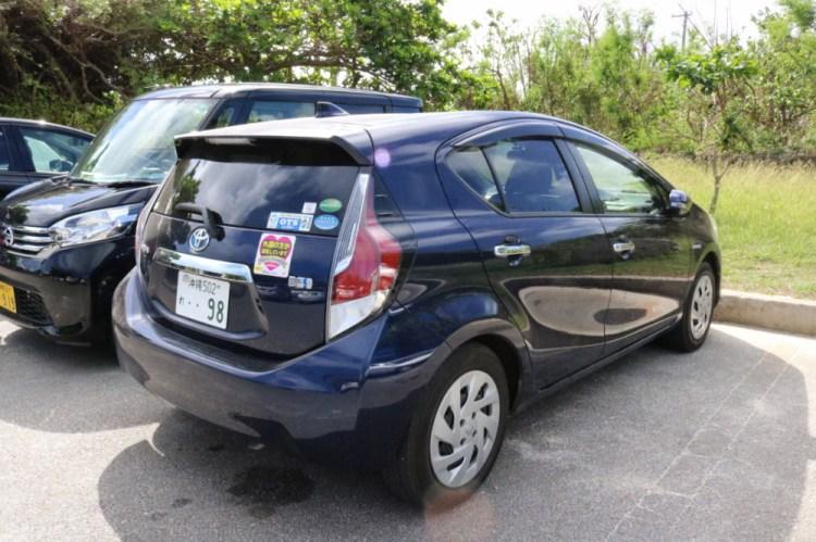 日本租車自駕OTS rent a car評價 車被拖吊糟糕