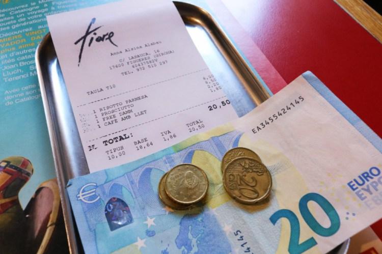 西班牙如何給小費 歐洲小費概覽
