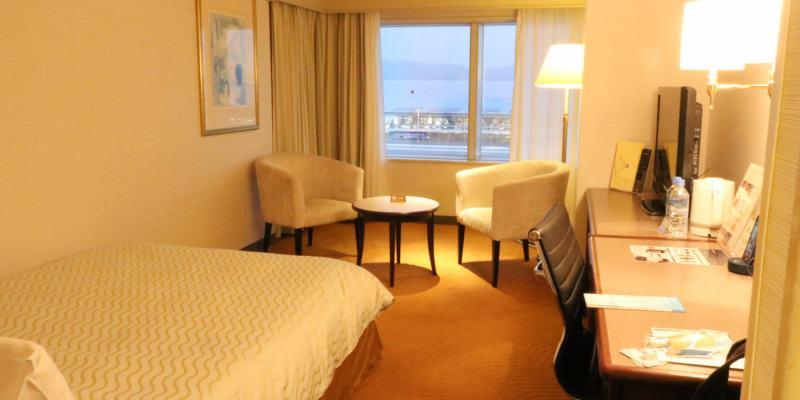 《日本》關西機場日航酒店 住在機場 深夜清晨都便利