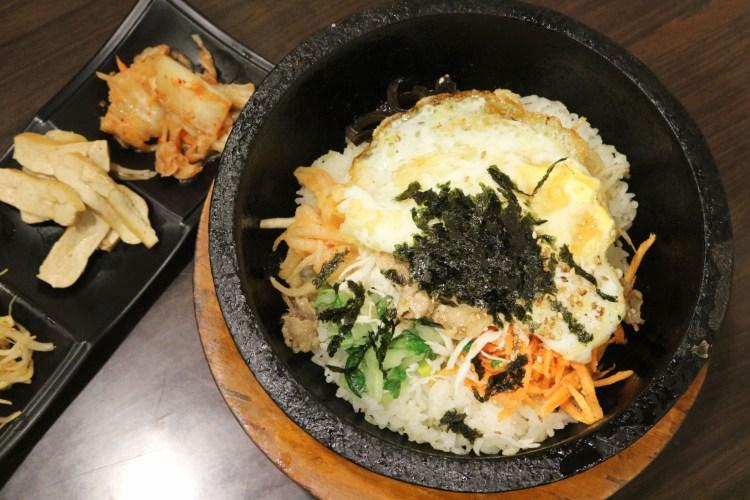 內湖韓國菜 恩花園韓式料理 推薦石鍋拌飯
