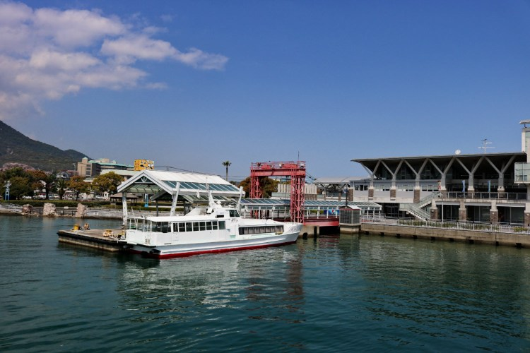 長崎熊本交通渡輪 開車搭船海鷗飛舞伴遊親子同樂
