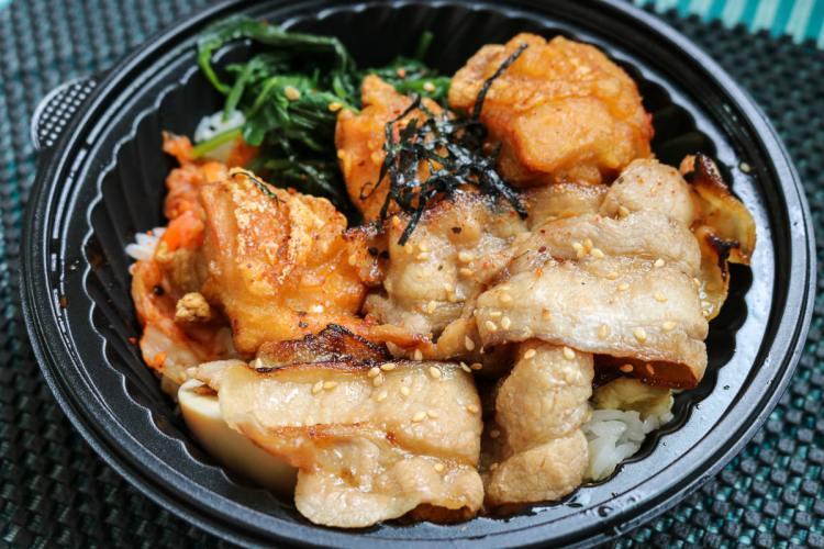 內湖燒肉便當 極餓日式燒丼專賣