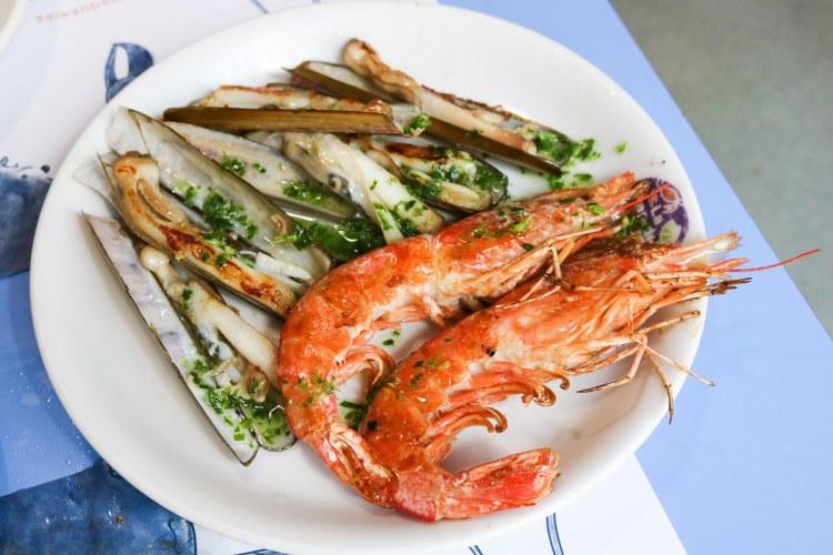 巴塞隆納美食La Paradeta海鮮熱炒便宜大碗