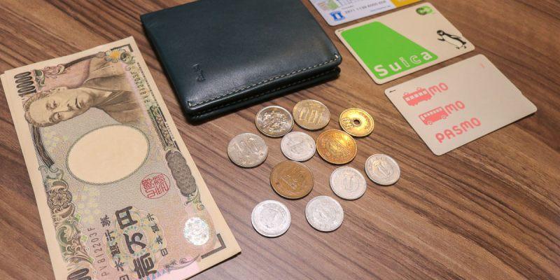 開箱澳洲皮夾Bellroy 輕薄時尚旅遊多用途 台幣千元鈔沒問題