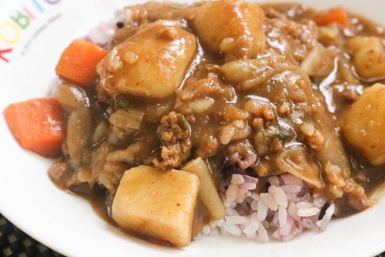 咖哩食譜 特製日式咖哩飯肉末版!肉燥新吃法