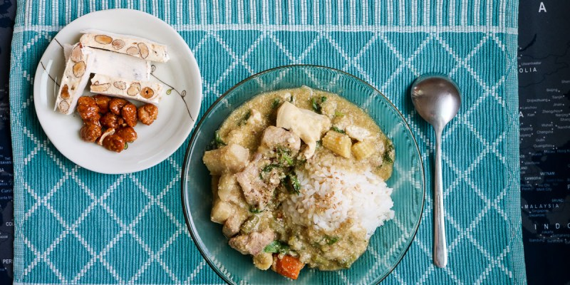 泰式綠咖哩食譜做法 靠壓力鍋超簡單不用顧火