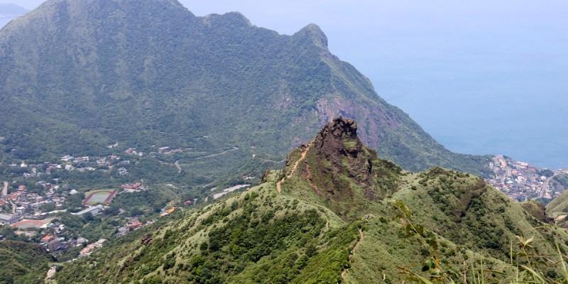 瑞芳茶壺山半屏山縱走 黃金三稜手腳並用氣勢不輸劍龍稜