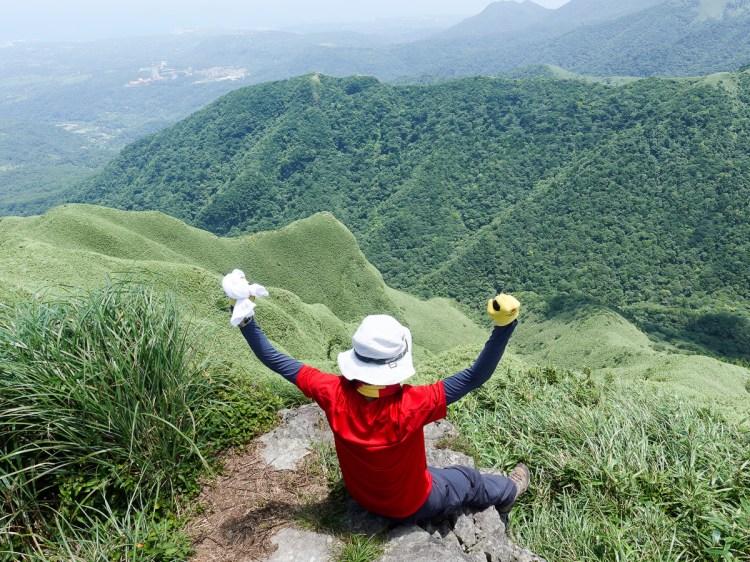 北投三芝健行 小觀音山群峰 直上小觀音山西峰唯美箭竹草坡