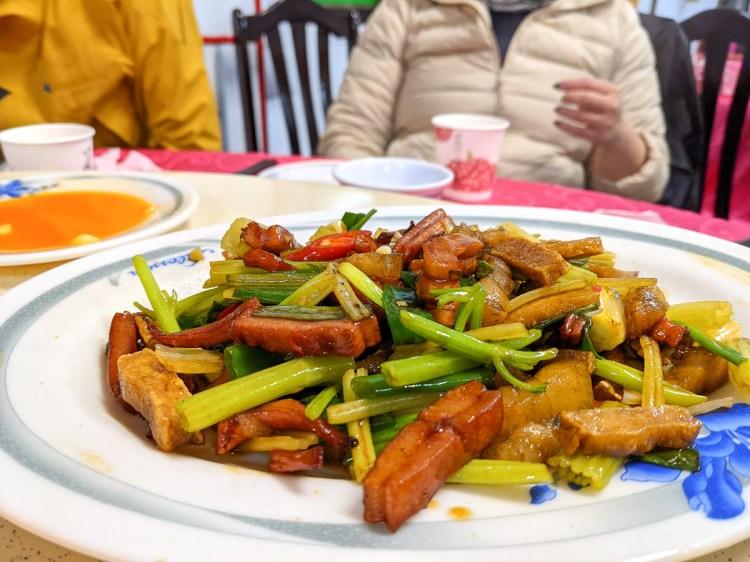 苗栗南庄加里山美食 食園農園餐廳道地客家手藝現點現做辣椒王道