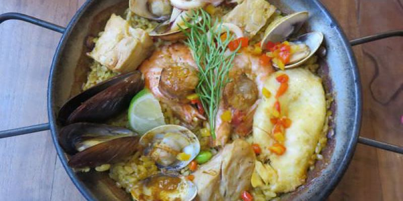 《台北》內湖。HowFun Paella Bar 好飯食堂 踏入西班牙的前哨站